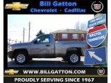 2012 Graystone Metallic Chevrolet Silverado 1500 Work Truck Regular Cab #61288753