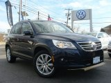 2011 Night Blue Metallic Volkswagen Tiguan SE #61288741