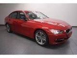 2012 Melbourne Red Metallic BMW 3 Series 335i Sedan #61288494