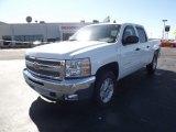 2012 Summit White Chevrolet Silverado 1500 LT Crew Cab 4x4 #61288488