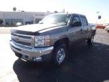 2012 Graystone Metallic Chevrolet Silverado 1500 LT Crew Cab 4x4 #61288486