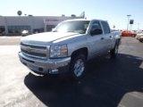 2012 Silver Ice Metallic Chevrolet Silverado 1500 LT Crew Cab 4x4 #61288485