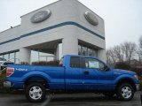 2012 Blue Flame Metallic Ford F150 XLT SuperCab 4x4 #61288151