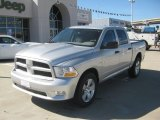 2012 Bright Silver Metallic Dodge Ram 1500 Express Crew Cab 4x4 #61288475