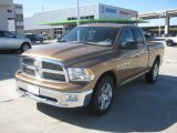 2012 Saddle Brown Pearl Dodge Ram 1500 Lone Star Quad Cab #61288474