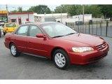 2002 Firepepper Red Pearl Honda Accord SE Sedan #61288463