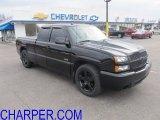 2004 Black Chevrolet Silverado 1500 SS Extended Cab AWD #61288680