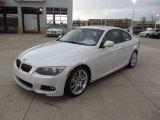 2012 Mineral White Metallic BMW 3 Series 335i Coupe #61288448