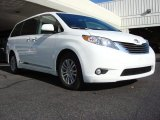 2011 Super White Toyota Sienna XLE #61288120