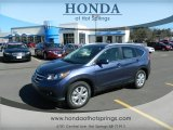 2012 Twilight Blue Metallic Honda CR-V EX-L #61288422