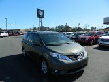 2012 Cypress Green Pearl Toyota Sienna LE #61288421
