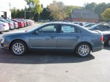 2011 Steel Blue Metallic Ford Fusion SEL V6 #61288400