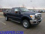 2012 Dark Blue Pearl Metallic Ford F250 Super Duty XLT SuperCab 4x4 #61288090