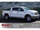 2012 Super White Toyota Tundra CrewMax 4x4 #61288060