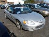 2002 Brilliant Silver Metallic Chrysler Sebring LXi Convertible #61288042