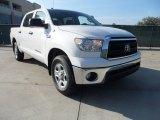 2012 Super White Toyota Tundra CrewMax 4x4 #61288351