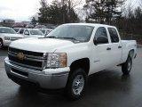 2012 Chevrolet Silverado 2500HD Work Truck Crew Cab 4x4 Data, Info and Specs