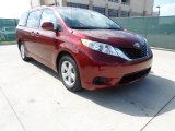 2012 Salsa Red Pearl Toyota Sienna LE #61288342