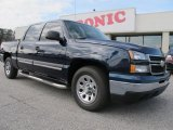 2006 Dark Blue Metallic Chevrolet Silverado 1500 LS Crew Cab #61288310