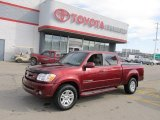 2005 Salsa Red Pearl Toyota Tundra Limited Double Cab 4x4 #61344578