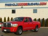 2006 Flame Red Dodge Ram 1500 Laramie Quad Cab 4x4 #61345792