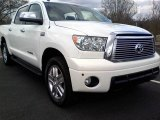 2010 Super White Toyota Tundra Limited CrewMax 4x4 #61345184