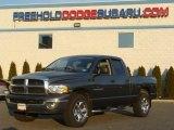 2004 Graphite Metallic Dodge Ram 1500 SLT Quad Cab 4x4 #61345784