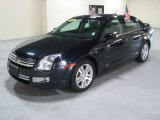 2008 Dark Blue Ink Metallic Ford Fusion SEL V6 #61345773