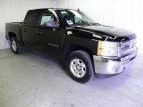 2012 Black Chevrolet Silverado 1500 LT Crew Cab 4x4 #61345153