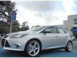 2012 Ingot Silver Metallic Ford Focus Titanium 5-Door #61344505