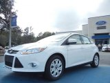 2012 Oxford White Ford Focus SE 5-Door #61344502