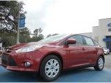 2012 Red Candy Metallic Ford Focus SE 5-Door #61344500