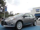 2012 Sterling Grey Metallic Ford Focus Titanium 5-Door #61344499