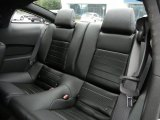 2012 Ford Mustang C/S California Special Coupe Rear Seat