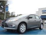 2012 Sterling Grey Metallic Ford Focus SE 5-Door #61344476