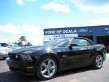 2011 Ebony Black Ford Mustang GT Premium Convertible #61344473