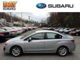 2012 Ice Silver Metallic Subaru Impreza 2.0i Premium 4 Door #61344464
