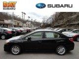 2012 Obsidian Black Pearl Subaru Impreza 2.0i Premium 4 Door #61344463