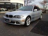 2004 Titanium Silver Metallic BMW 3 Series 325i Coupe #61344412