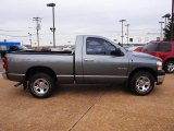 2008 Mineral Gray Metallic Dodge Ram 1500 SXT Regular Cab #61344376