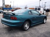 1996 Ford Mustang Pacific Green Metallic
