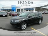2012 Crystal Black Pearl Honda CR-V EX-L 4WD #61344958