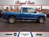 2006 Atlantic Blue Pearl Dodge Ram 1500 SLT Quad Cab #61344312