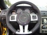 2012 Dodge Challenger SRT8 Yellow Jacket Steering Wheel