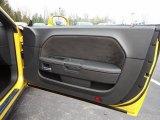 2012 Dodge Challenger SRT8 Yellow Jacket Door Panel