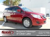 2012 Deep Claret Red Metallic Volkswagen Routan SE #61345581