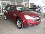 2010 Cardinal Red Metallic Chevrolet Equinox LS AWD #61344232