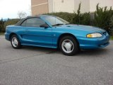 1994 Ford Mustang Teal Metallic