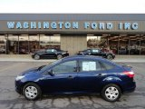 2012 Kona Blue Metallic Ford Focus S Sedan #61344896