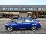 2012 Sonic Blue Metallic Ford Focus SE Sport Sedan #61344881